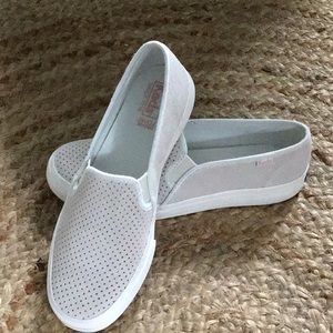 NWOT Keds Double Suede Slip On Sneaker Size 7
